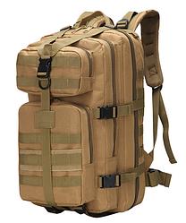 Тактический, городской, штурмовой,военный рюкзак ForTactic на 30-35литров Кайот