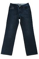 (Темно-синий) (Размер 31) Джинсы мужские потертые 239V002