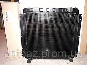 Радиатор Зил 5301 (бычок) 3 рядный медный Иранский