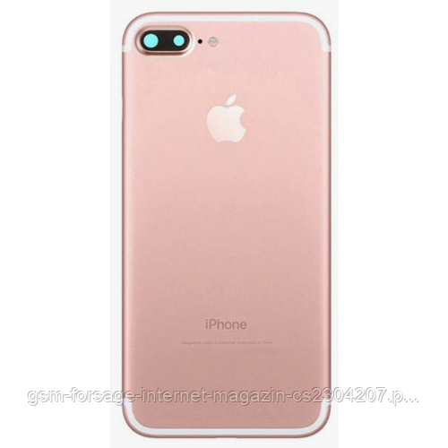 "Крышка задняя iPhone 6 Plus (5.5"") подобно 7 Plus Rose Gold"