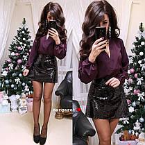Женская блуза, размер единый 42-44, фото 3