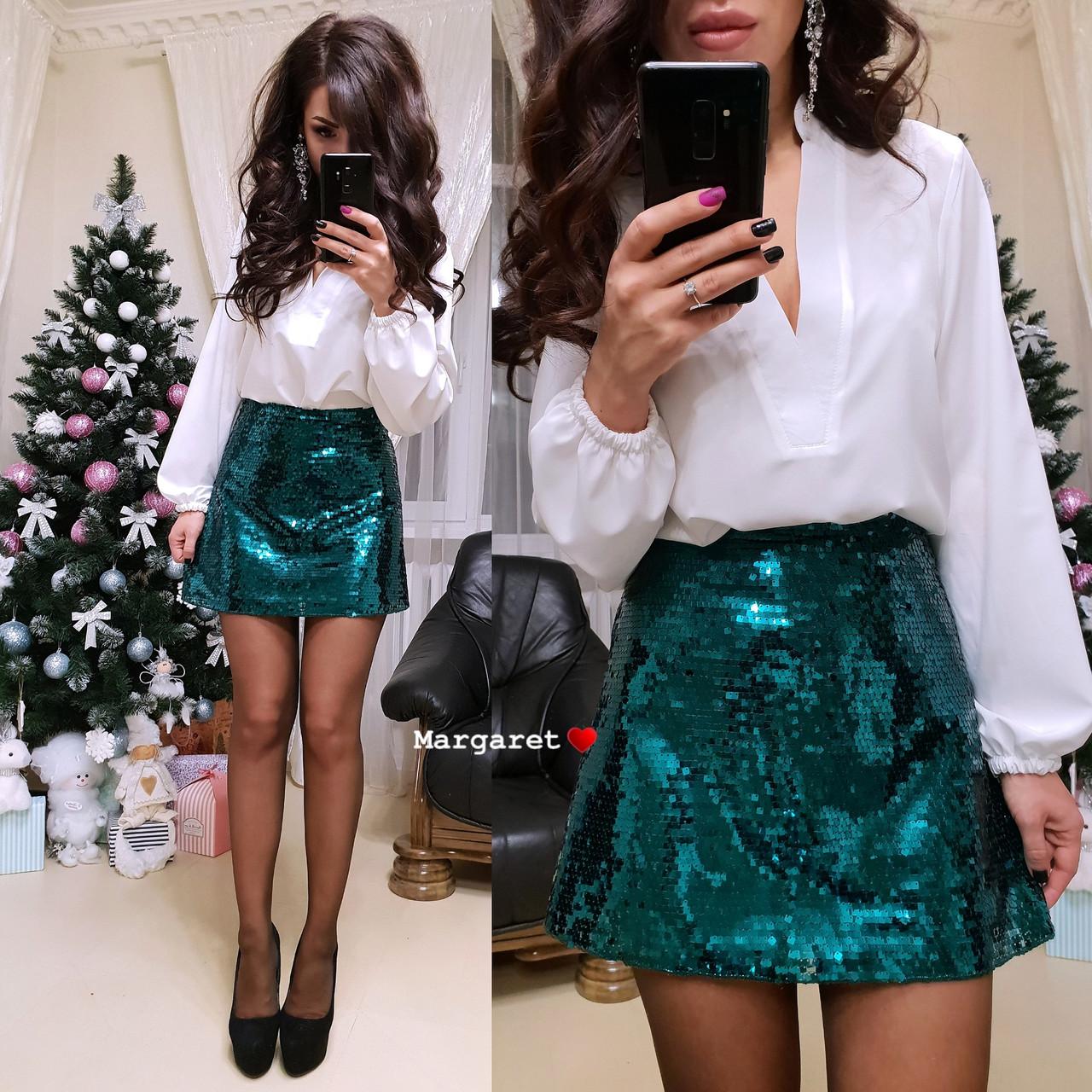 Женская блуза, размер единый 42-44