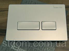Клавиша для инсталляции Idevit53-01-04-031 матовый хром