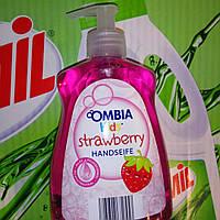 Жидкое крем-мыло для детей с ароматом клубники Ombia kids  500 мл