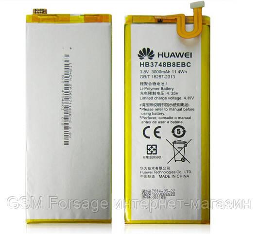 Аккумулятор Huawei HB3748B8EBC (3000 mAh) Ascend G7