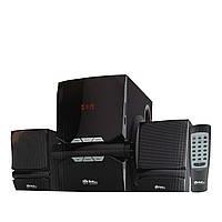 Универсальная Акустическая система для дома с USB + Bluetooth+FM-радио. Музыкальный центр.