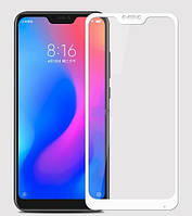 Защитное стекло Full glue (5D) Xiaomi Mi A2 Lite / Xiaomi Redmi 6 Pro (White), фото 1