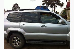 Окантовка стёкол Toyota Prado 120