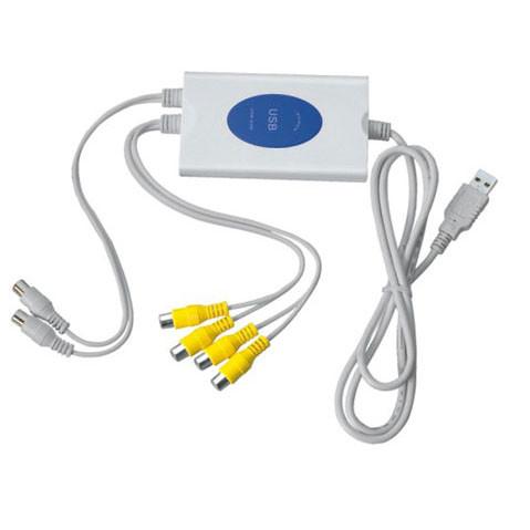 Видеорегистратор USB DVR 4ch для систем видеонаблюдения