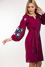 Платье 44690 (т.малиновый)