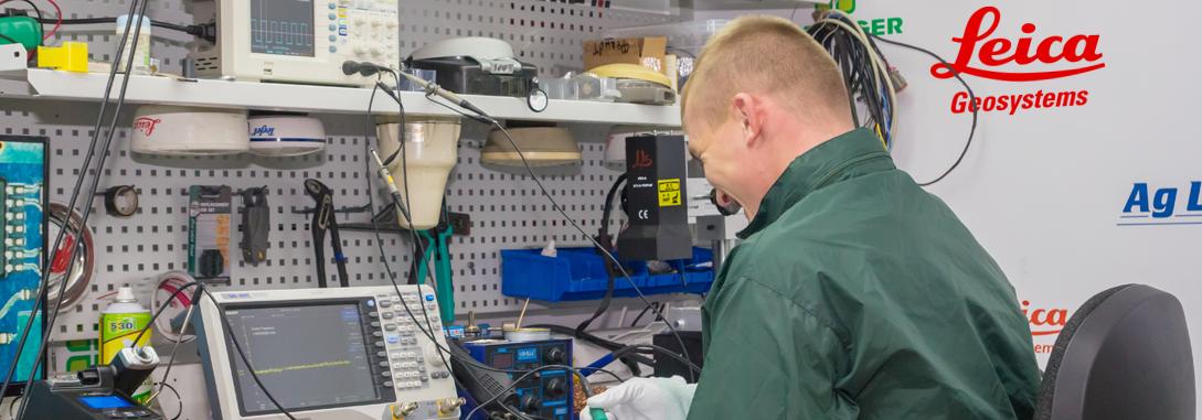 Диагностика, ремонт и сервисное обслужевание (перепрошивка, чистка) агронавигации  Trimble TMX-2050 (США)