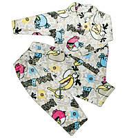Пижама махра для девочек бердц