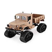 """Машинка на радиоуправлении """"Военный грузовик"""" (бежевая)"""