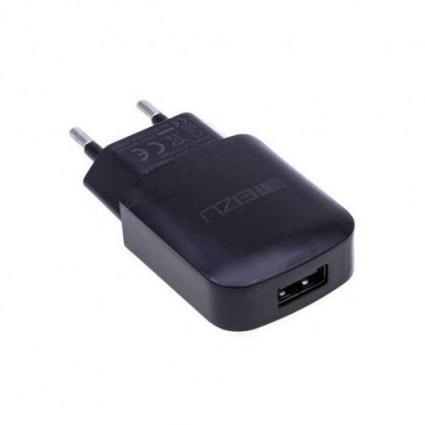 Сетевое зарядное устройство Meizu YJ-06 + micro USB кабель 1м Black