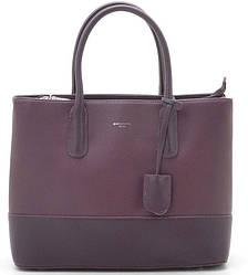 Женская сумка D. Jones с декором из кожи Bordeaux