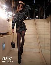 Женская блуза в паетках, размер 42-44, фото 2