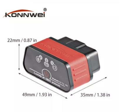 Автосканер Konnwei KW903 V1.5 конвей bluetooth 3.0 icar 2 konwei