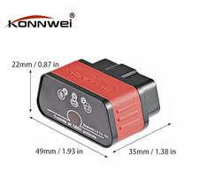 Автосканер Konnwei KW903 OBD 2 ELM327 V1.5 pic18f25k80 Bluetooth 3.0, фото 3