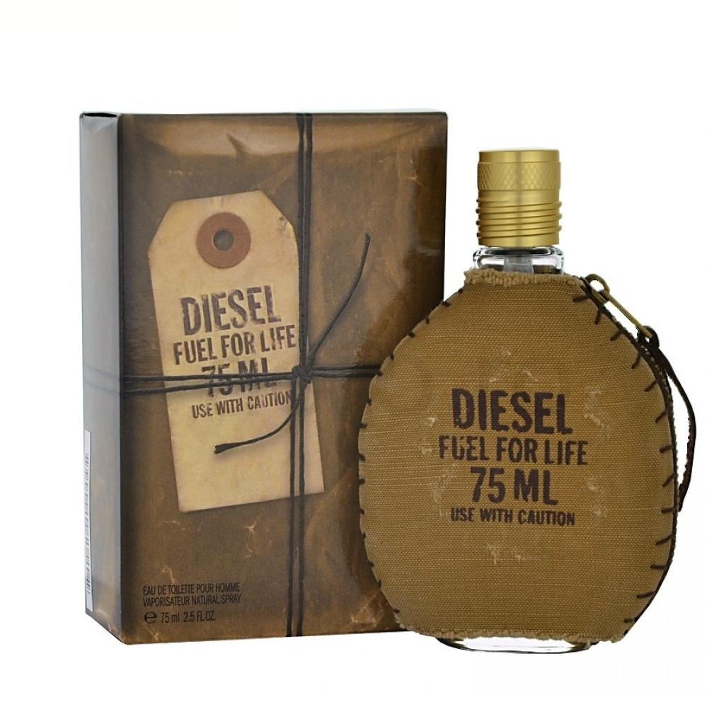 Чоловіча туалетна вода DIESEL FUEL FOR LIFE FOR MAN , 75 мл ( репліка )