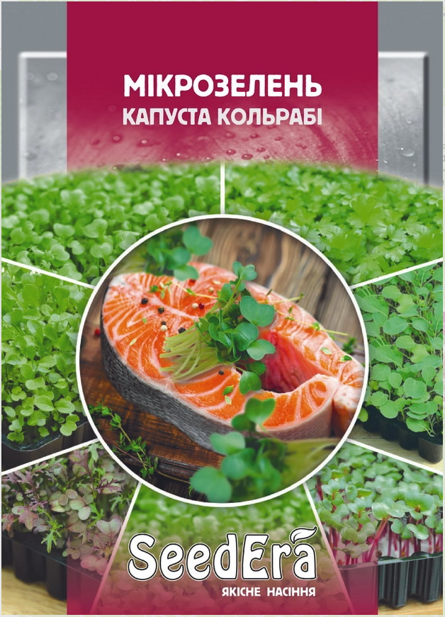 "Семена микрозелени ""Кольраби"", SeedEra 10 грамм"