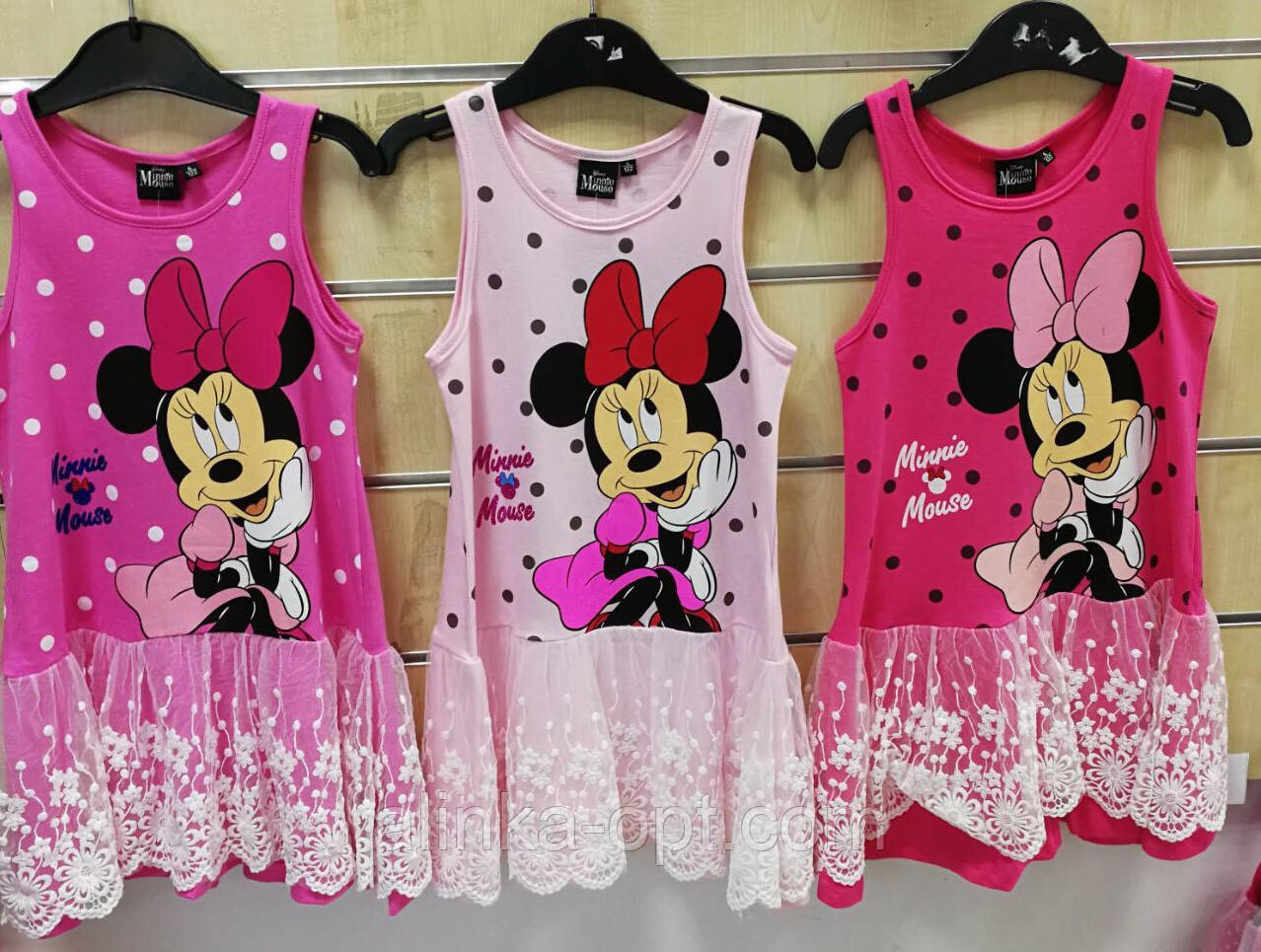 Платье для девочек Disney оптом, 98/104-134 рр .