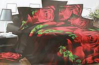 Комплект постельного белья из ранфорса Розы