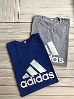 Мужская футболка хлопковая, хб, спортивная, легкая, из натуральной ткани