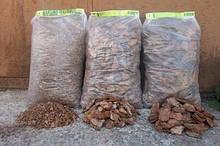 Кора соснова для мульчування Мульча Київ Київська область купити кора велика