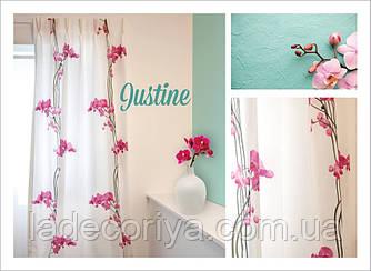 Ткань  принт орхидея