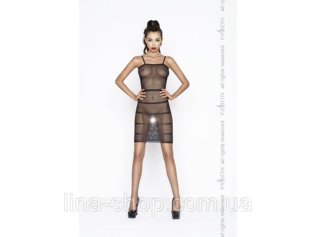 Прозрачное сексуальное платье Passion BS033