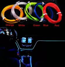 Неон в авто•Холодный неон•Неоновая подсветка•Гибкий неон•Неон, фото 2