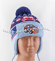 Зимние детские шапки-ушанки для мальчиков
