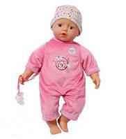 Кукла 32 см Нежная Кроха My Little Baby Born Zapf Creation 819968