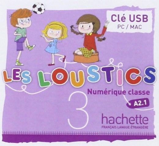 Les Loustics 3 Manuel numérique interactif pour l'enseignant (sur clé USB)