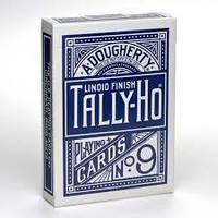 Карты игральные Tally-Ho  FanBack Blue
