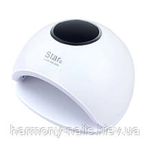 LED+UV Lamp STAR 5 48W White - універсальна лампа для манікюру і педикюру.