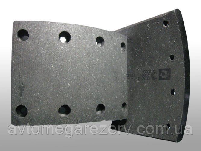 Накладка гальмівна 53212-3501105 КамАЗ