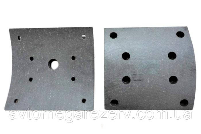 Накладка колодки гальмівної 5440-3501105 (свер)