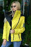Куртка демисезонная с отстёгивающимся капюшоном, ботал, фото 7