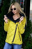 Куртка демисезонная с отстёгивающимся капюшоном, ботал, фото 8