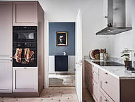 Кухня  с фасадами цвета медь ручки ракушки. фасады фрезеровка с матовой покраской, фото 1