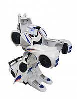 Набор игровой K13 на радиоуправлении (машинка + робот-трансформер) со звуком и светом