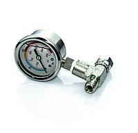 Проточный манометр для безвоздушного окрасочного аппарата высокого давления 400 бар, атмосфер