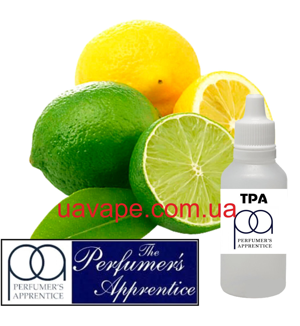 Ароматизатор TPA Lemon Lime II Flavor ТПА Лимон-лайм, 100 мл