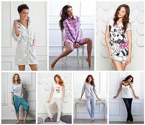 Домашняя одежда: пижамы, халаты, ночнушки, туники