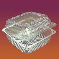 Пищевой одноразовый контейнер 2222 ( объём 1400 )