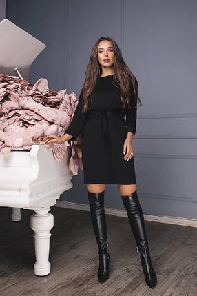 b0e409f2b688d0e Трикотажное черное платье: Цена, материал, хорошее качество.