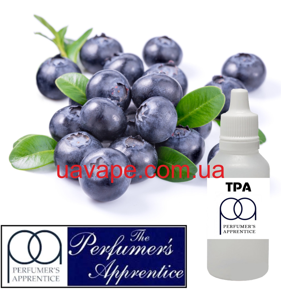 Ароматизатор Blueberry (Wild) Flavor ТПА Черника дикая голубика, 10 мл