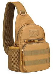Тактическая, штурмовая, военная, городская сумка ForTactic Кайот