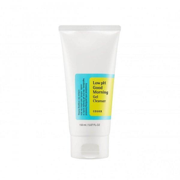 Гель-пенка с ВНА-кислотами и низким pH Cosrx Low-Ph Good Morning Gel Cleanser
